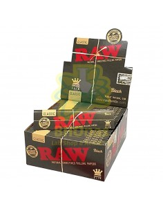 Raw Black King Size 50 Librillos