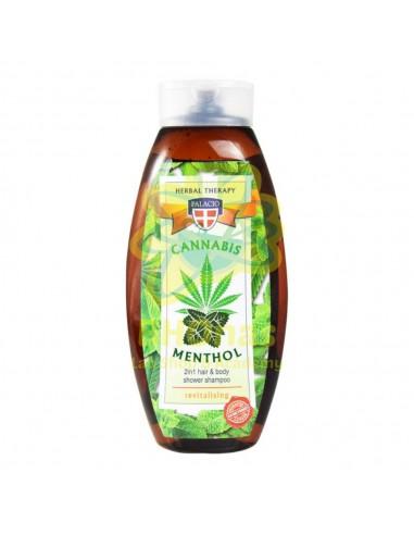 Champú Cannabis Palacio con Extracto de Mentol 500 ml