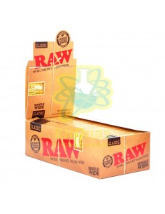 Raw Classic ¼ Natural Hemp Gum