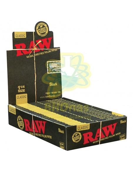 Papel Raw Black Classic ¼