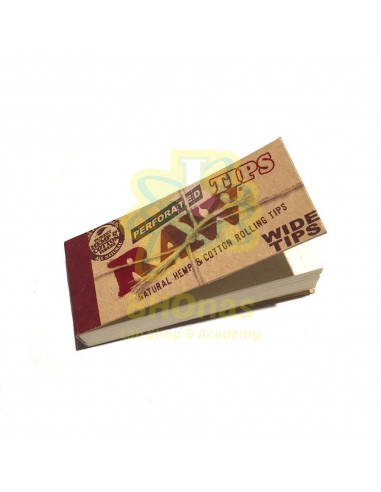 Raw Wide Tips / Hemp Cotton Organic