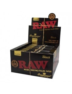 Raw Black King Size + Tips...