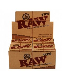 Raw Tips Pre-Rolled - BHOnas